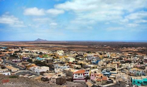 Sal Island view from Mirador