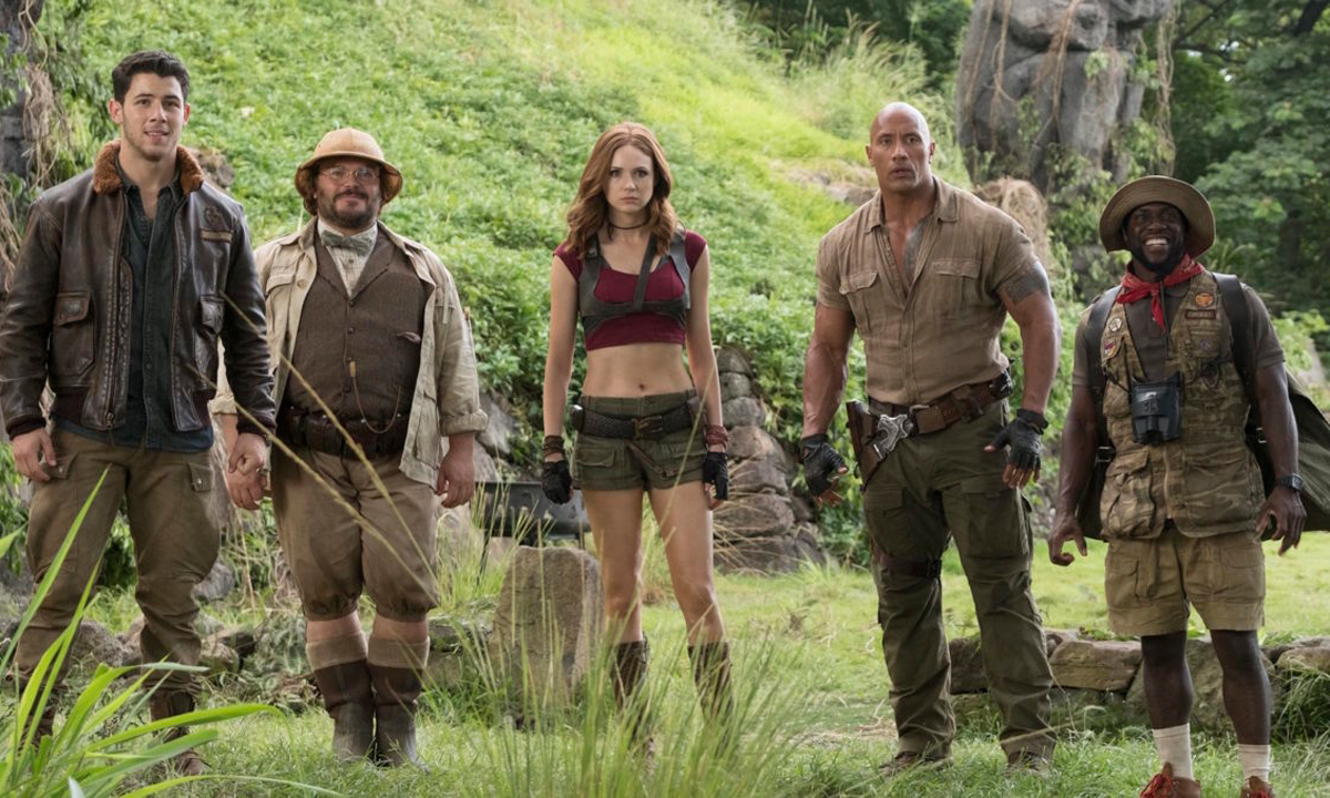 Film Review Jumanji  Welcome To The Jungle  Indaily