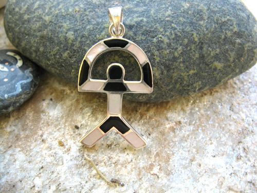 Indalo MOP black pendant