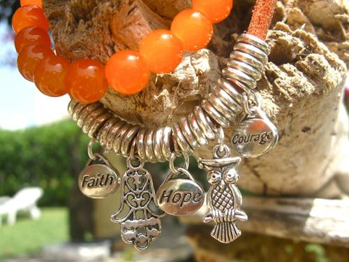 Hamsa Fatima Orange