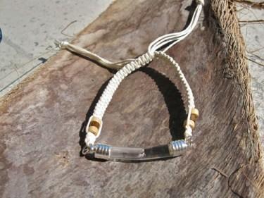 Lourdes water bracelet get well