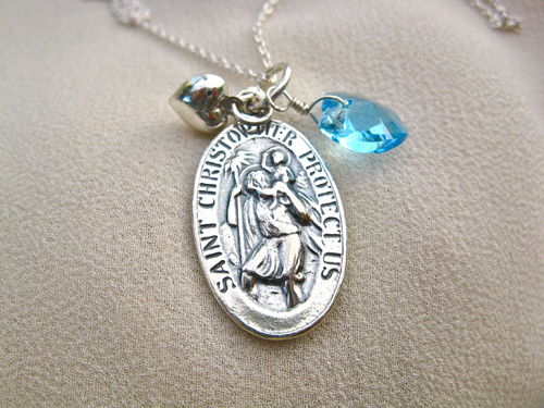 St Christopher charm