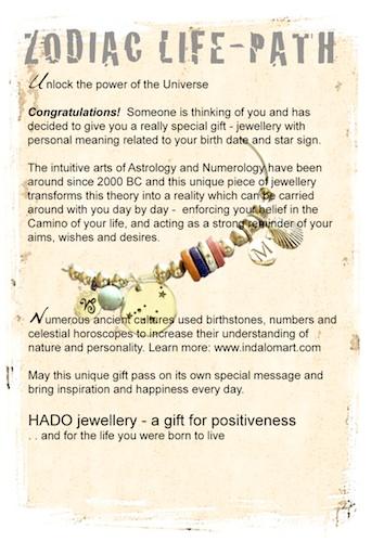 Zodiac Life Path card