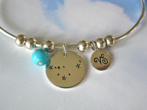 Capricorn Zodiac Turquoise