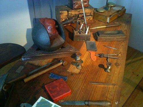 Damasquinado workshop
