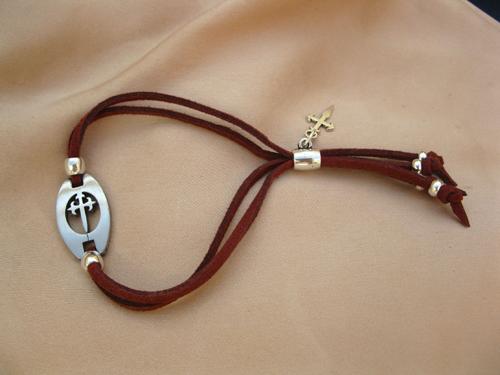 St James camino bracelet for courage