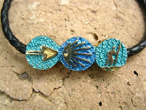 Symbolic Camino bracelet