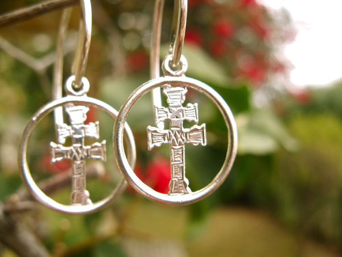 Caravaca Cross earrings