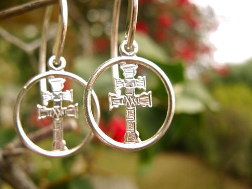 Caravaca Cross earrings