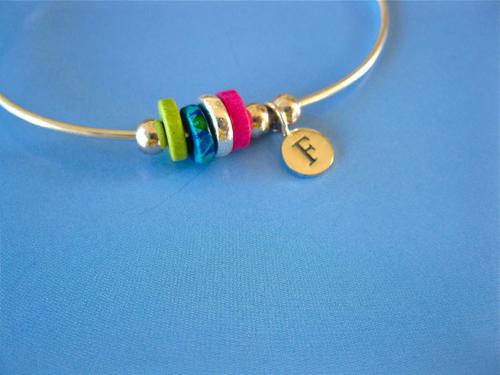 Life Path bracelet initial