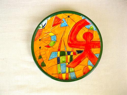 Indalo pottery plate thankyou