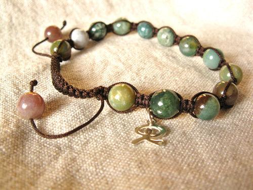 Indalo Shamballa bracelet