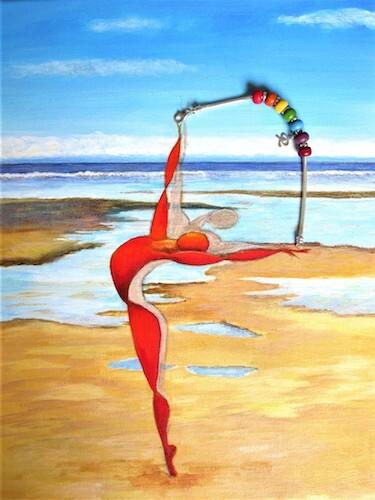 Indalo wellness charm painting