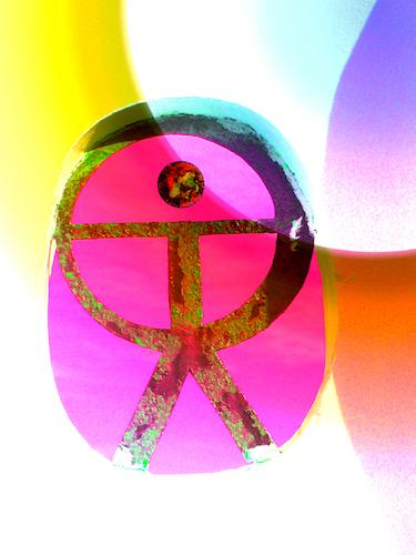 Indalo wellness symbol