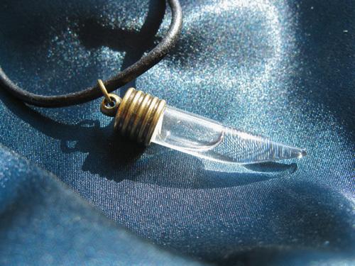 Lourdes water jewellery