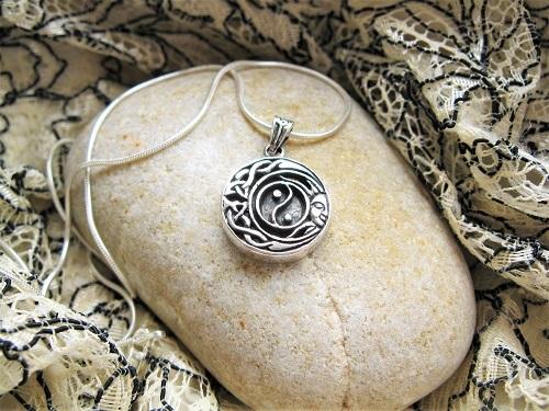 Yin Yang necklace gift