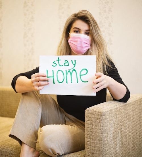 Quedar en casa puede hacerte ansiosa