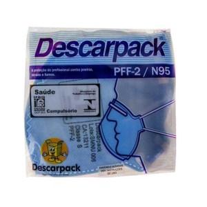 Máscara de Proteção Descarpack PFF-2 / N95 - Unitário