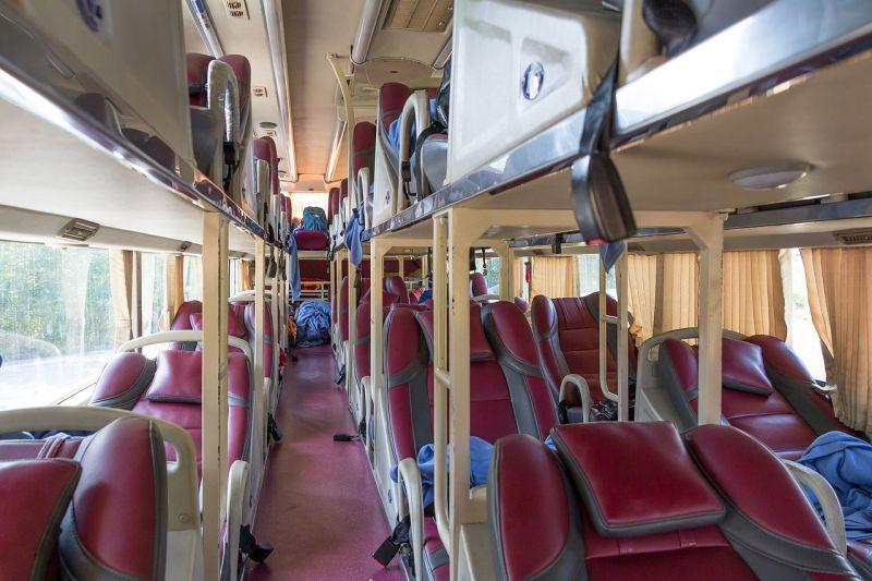 Sleeping bus no Vietnã