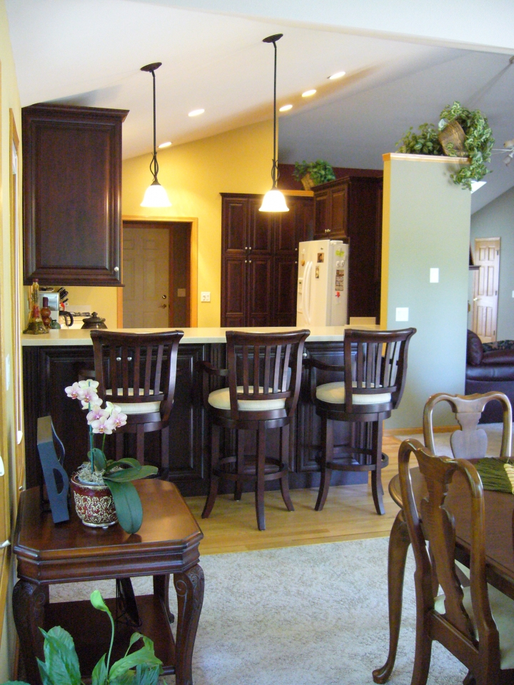 Cherry-Cabinets-with-Chestnut-Stain - INDECO LLC