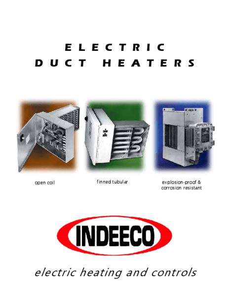 3 phase electric duct heater wiring diagram 2002 chevy 1500 radio indeeco hot water wire ~ elsalvadorla