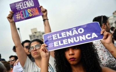NOT HIM: Stand against Fascism in Brazil and the Recolonization of Latin America