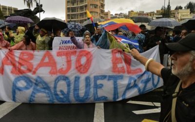 Alert about the 'State of Exception' in Ecuador