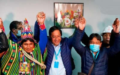 The Network in Defense of Humanity Celebrates the Historic Popular Triumph in Bolivia