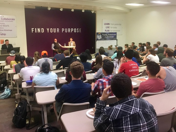 Grand Canyon University free speech event