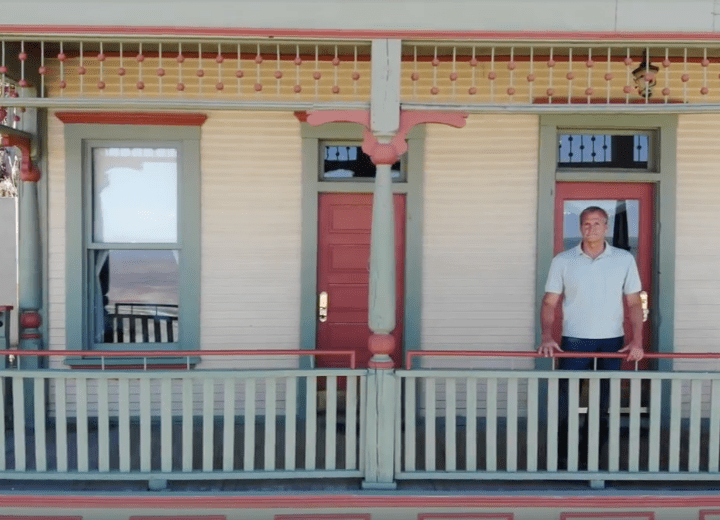 Glenn Odegard restored a home in Jerome, Arizona