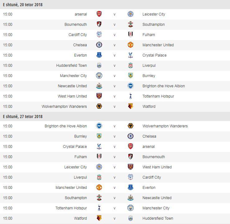 Zyrtare: Premierliga zbulon kalendarin për sezonin e