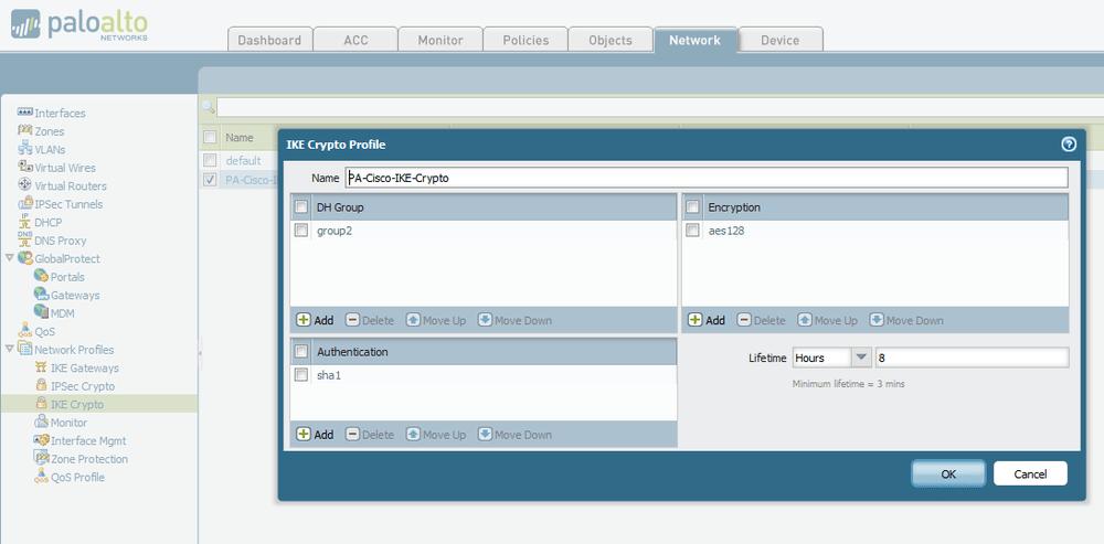 Palo Alto IPSec VPN Config - How to Set Up Between PAN & Cisco ASA   Indeni
