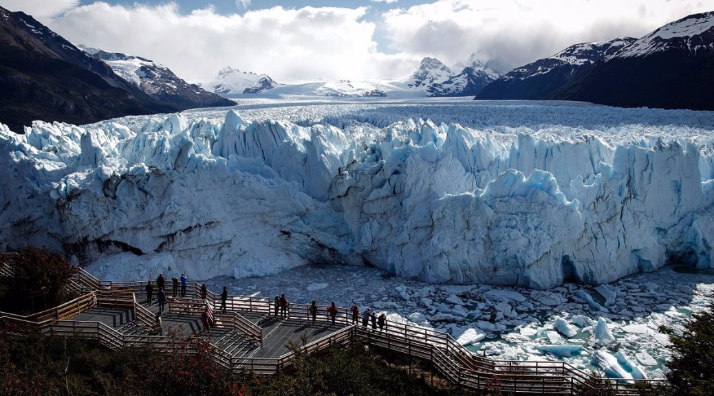 Getaway and forget the Washington Mayhem at the Patagonia Glaciers.