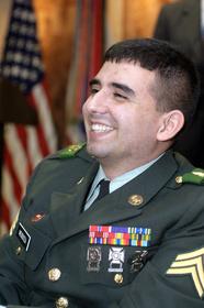 Manuel Valencia in Uniform