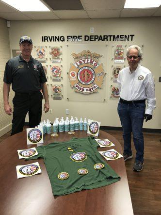 Warfighter Hand Sanitizer Irving Tx Fire 2