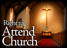 Right to Attend Church
