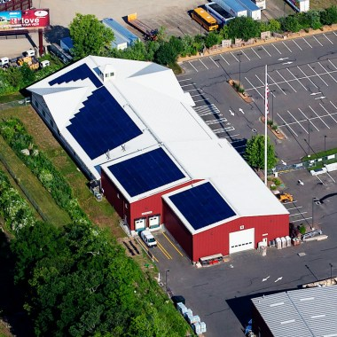 Independence Solar Completes 103 kW Commercial Rooftop In Branford, CT with Ring's End