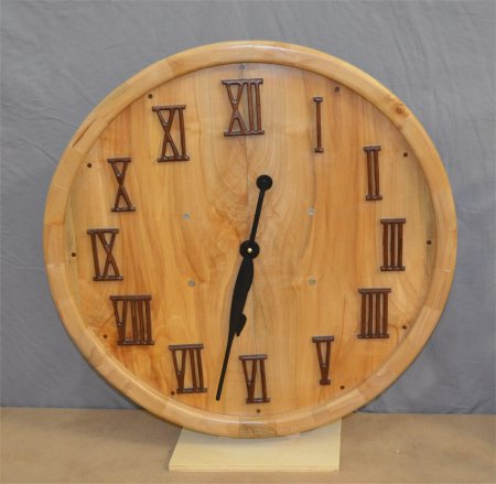 Wall clock by Gale Markley