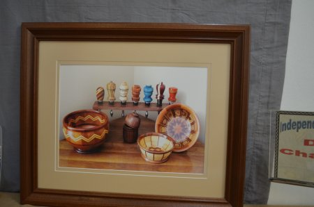 John Thornton's picture of his turnings