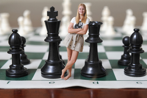 Goletas Teenage Chess Star Takes on World