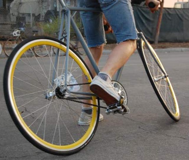 Fixed Gear Bikes Have No Cluster Of Gears On The Rear Wheel And Their Riders