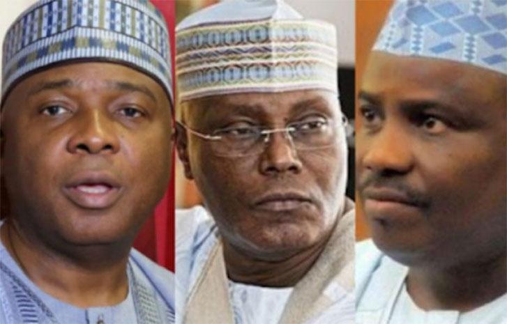 2023 Presidency: PDP may zero in on Atiku, Saraki, Tambuwal