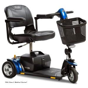 Go-Go Elite Traveller Plus 3-Wheel in Blue