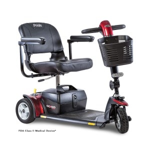 Go-Go Sport 3-Wheel in Red by Pride
