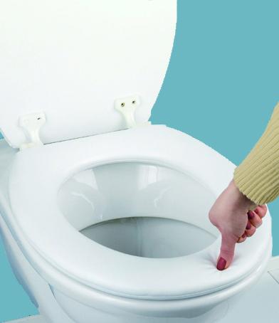 Standard Soft Padded Toilet Seat