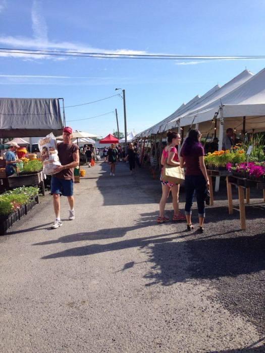 Lewisburg PA farm market outdoor