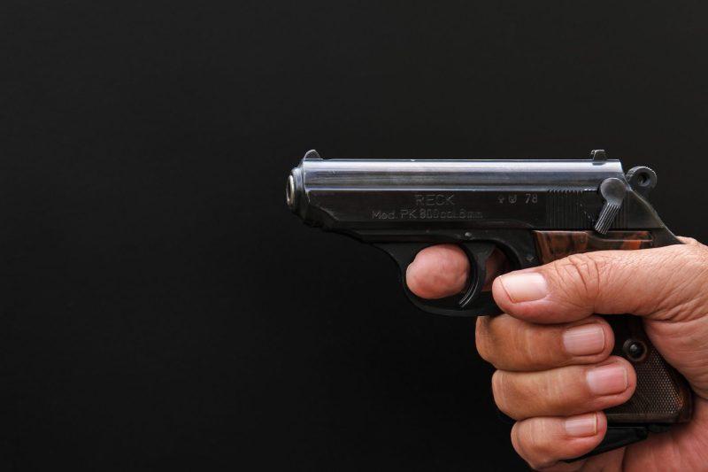 Hand gun pistol