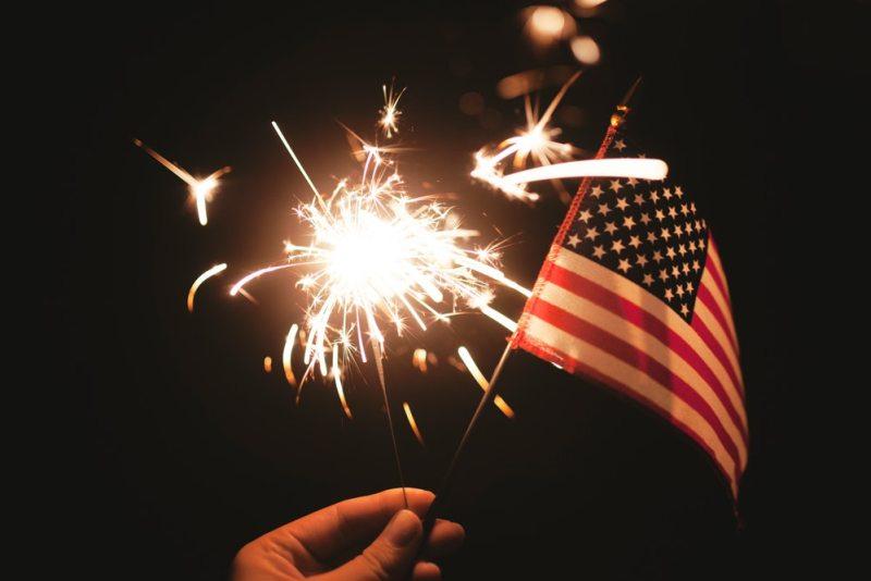 American-flag-fireworks