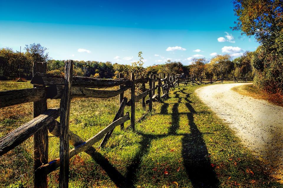 Dirt gravel road country rural