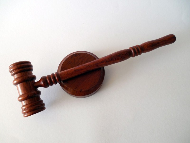 Legal gavel lawsuit